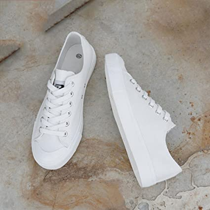 WFL Zapatos de Lona de los Hombres de los Hombres Ocasionales Zapatos de Fondo Plano Deportes