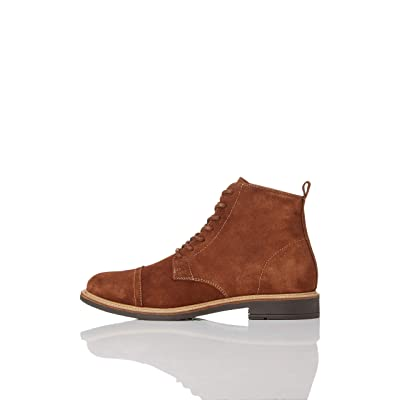 Amazon Brand - find. Men's Leather Lace Up Oiled Suede Boot: Shoes