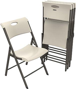 Amazon.com: Por Vida 480625 comercial silla plegable ...