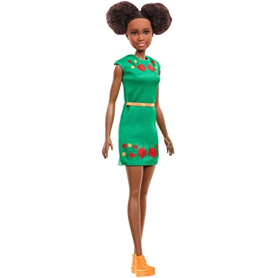 Barbie Dreamhouse Adventures Nikki Doll, Brunette, 11.5-Inch, in Green Dress, Gift for 3 to 7 Year Olds: Toys & Games