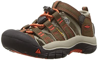 KEEN Big Kid (8-12 Years) Newport H2 Dark Earth Spicy Orange afe8ef633
