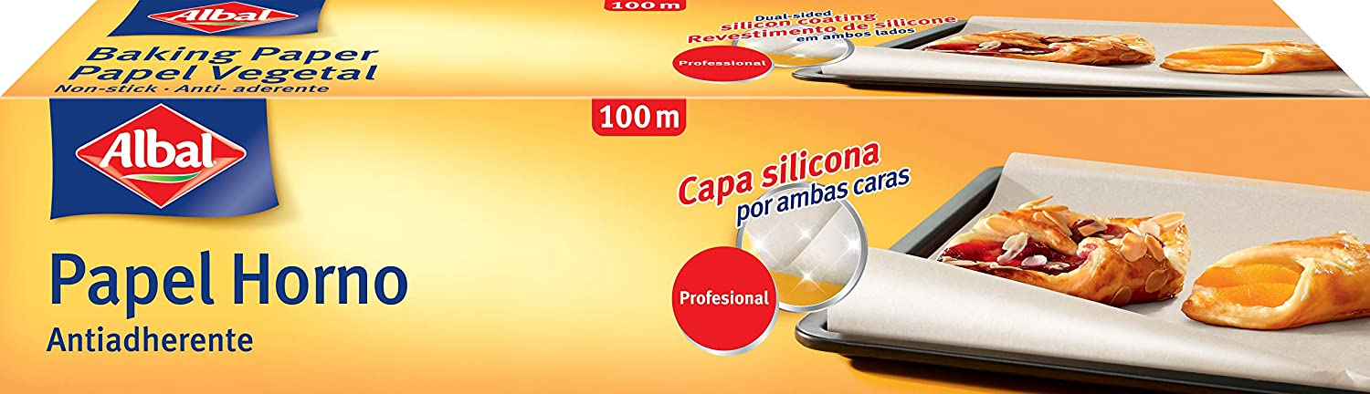 Albal Papel Horno Profesional - 100 m: Amazon.es: Amazon Pantry