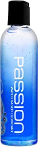Passion Lubes, Natural Water-Based Lubricant, 4 Fl Oz