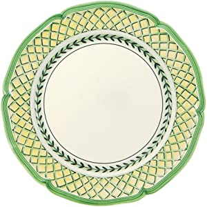 French Garden Orange Dinner Plate Set of 6 by Villeroy & Boch - 10.25 Inches