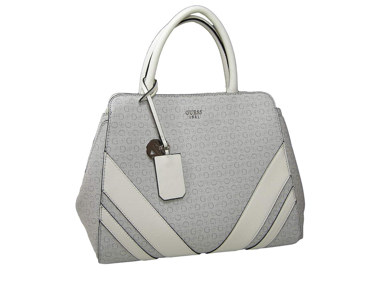 d10540dd6 Amazon.com: New Guess G Logo Large Purse Satchel Hand Bag Crossbody Bone  Gray Birch: Shoes
