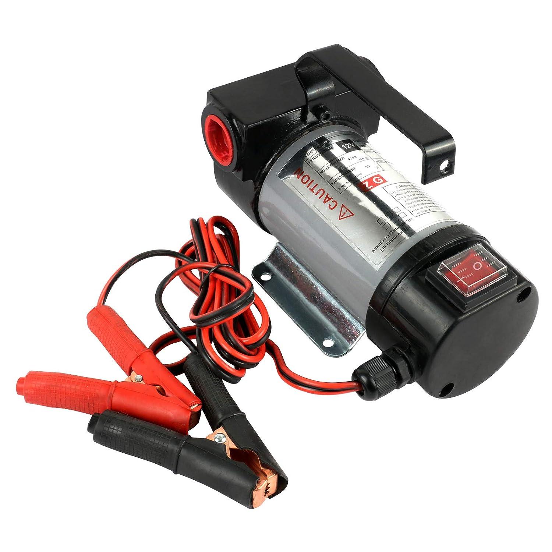 50 L//min, Bomba Diesel El/éctrica Coche 12V GOGOLO Bomba de aceite del motor extraccion Bomba Aceite Autoaspirante