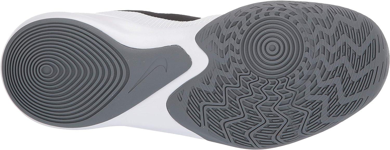 Nike Precision III, Chaussures de Basketball Homme Blanc White Black 000
