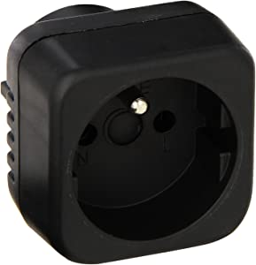Power Bright GS29 Plug Adapter American Input: German Round Pin Grounded