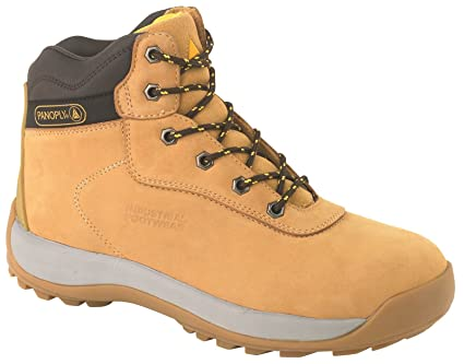 Deltaplus Mens Lh840Sm Sand Safety Boot Beige US Size 9