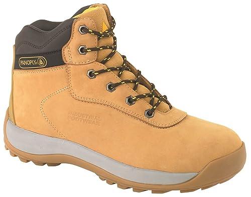 Delta Plus LH840SM Arena - Botas de Seguridad para Hombre Cuero Trabajo Calzado de protección: Amazon.es: Zapatos y complementos