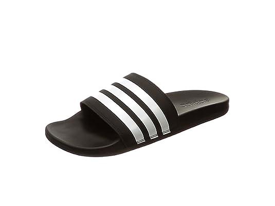 adidas Herren Cloudfoam Plus Stripes Adilette Dusch & Badeschuhe