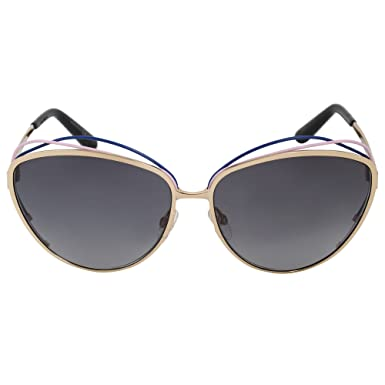 f3f35e7fd033 Image Unavailable. Image not available for. Color  Sunglasses Christian Dior  SONGE Gold Cat-eye