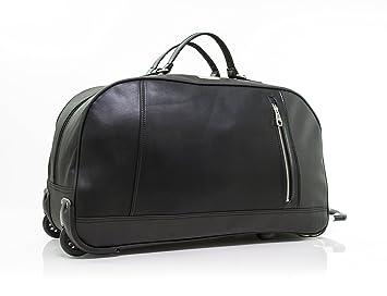 Calvin Klein Lenox Hill Wheeled Duffle Rolling Duffel Black One Size fc03ac46578e8