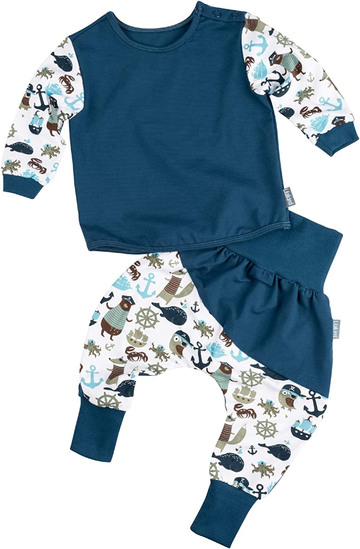 """Lilakind/"""" Kurze Bio Kinder-Hose Baby Shorts Buchse Sommerhose M/ädchen Rehe Bio-Baumwolle Schwarz Rosa Gr 50//56-98//104 Made in Germany"""