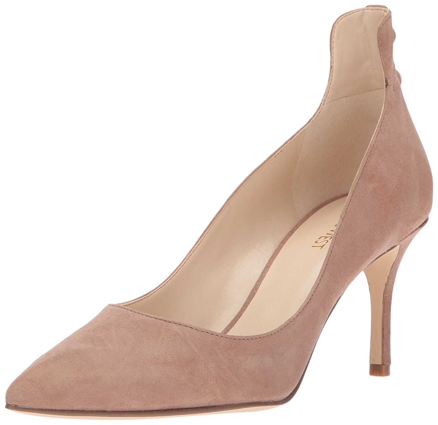 Nine West Women's Maqui Pump B01N3CH335 6.5 B(M) US|Natural Suede