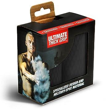 + Premium - Ultimate Thick Grip - Puños de barra y mancuernas de grosor - aumento