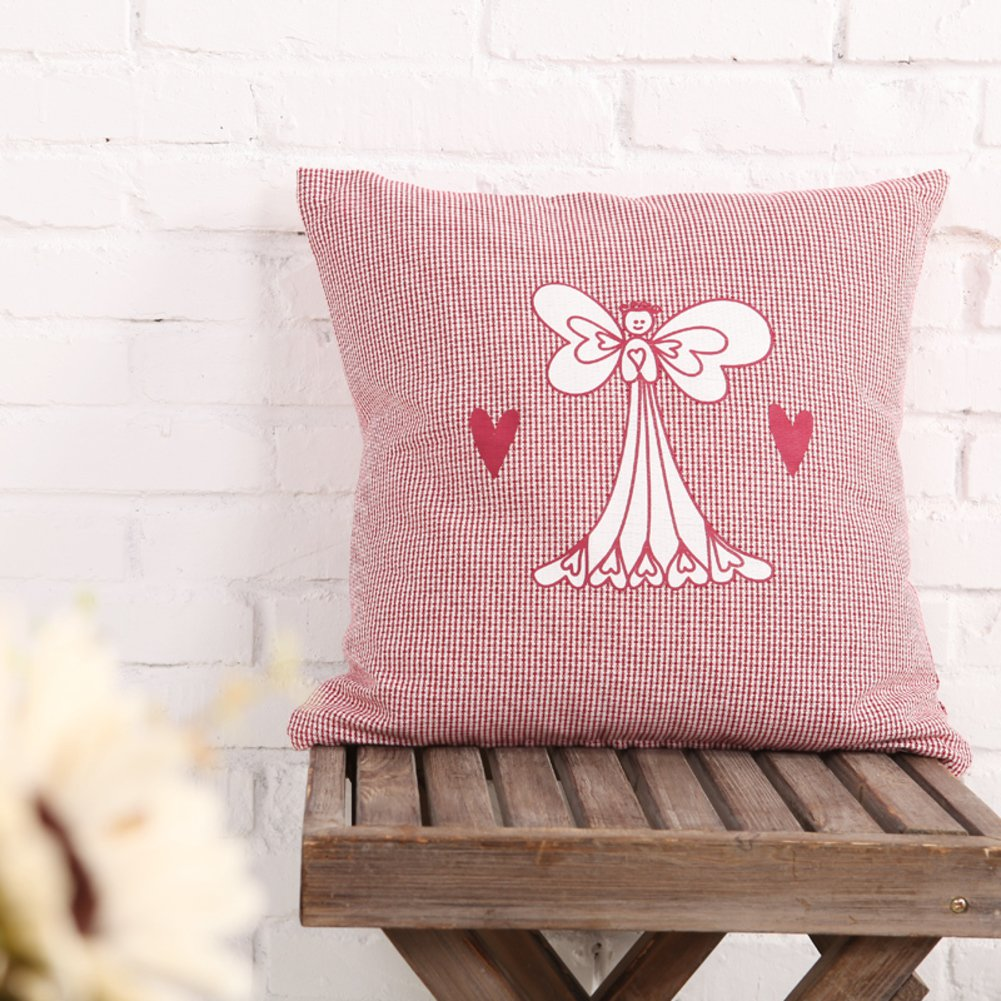 European-style pillow India cotton cushion pillowcase for sofa and bed -A 45x45cm(18x18inch)