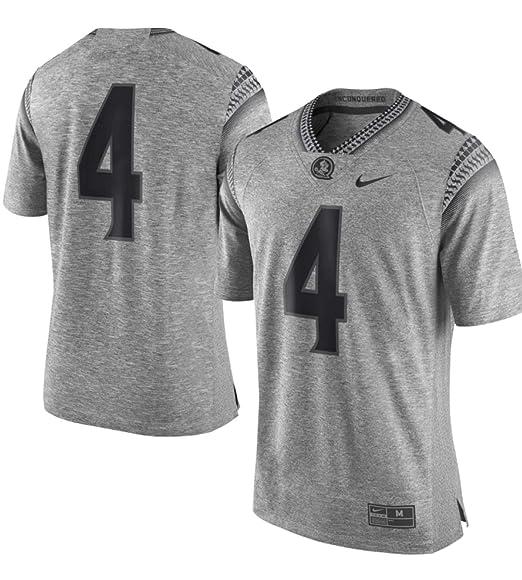 hot sale online 2e6b0 10ea6 Amazon.com : Nike Florida State Seminoles #4 Gridiron Gray ...