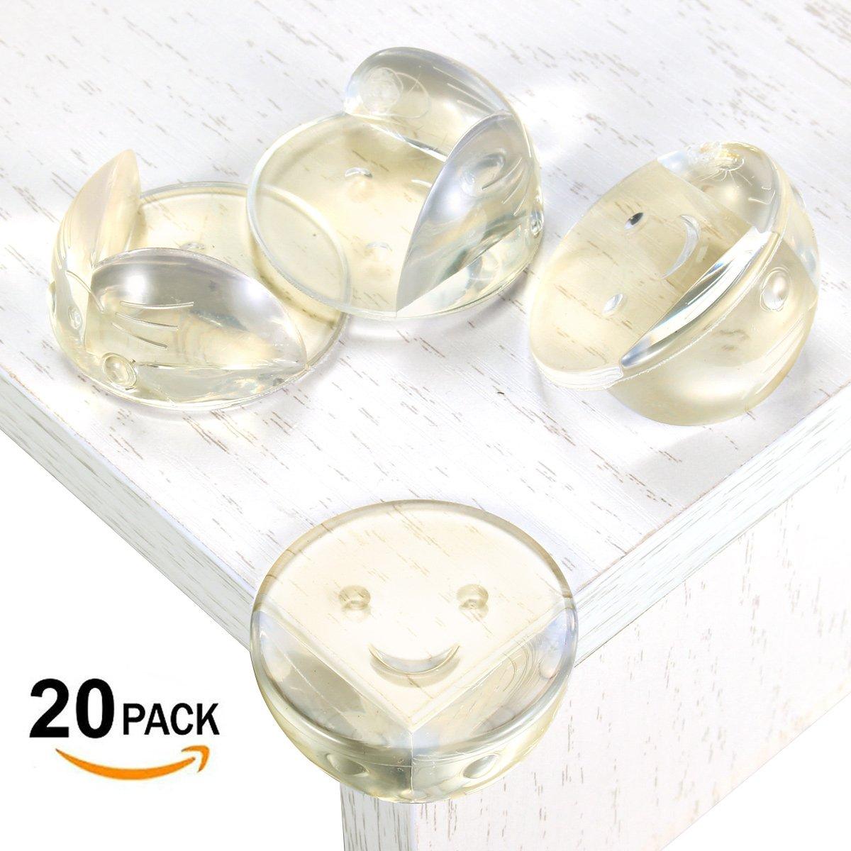zacfton premium eckenschutz kantenschutz transparent sto schutz kinderschutz aus kunststoff und. Black Bedroom Furniture Sets. Home Design Ideas