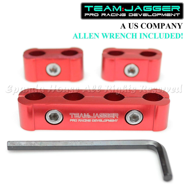 Para Caddy & ¡Mazda Cars! Kit de separadores de bujías estilo deportivo anodizado, color rojo: Amazon.es: Coche y moto