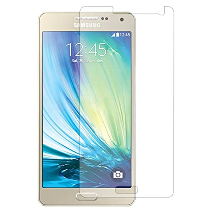 DMG Curved Tempered Glass Screen Protector for Samsung Galaxy A5 (2.5D Arc 9H 0.3mm) <span at amazon