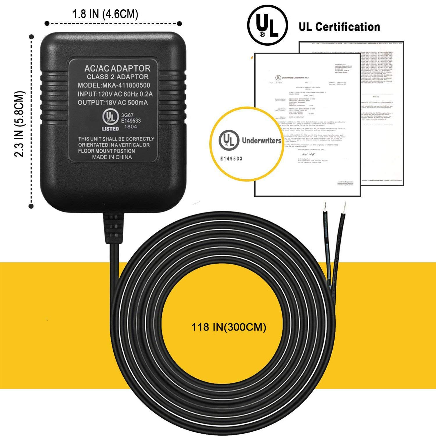 Power Adapter For Ring Doorbell Ul Certificated Supply Correct Wiring Video