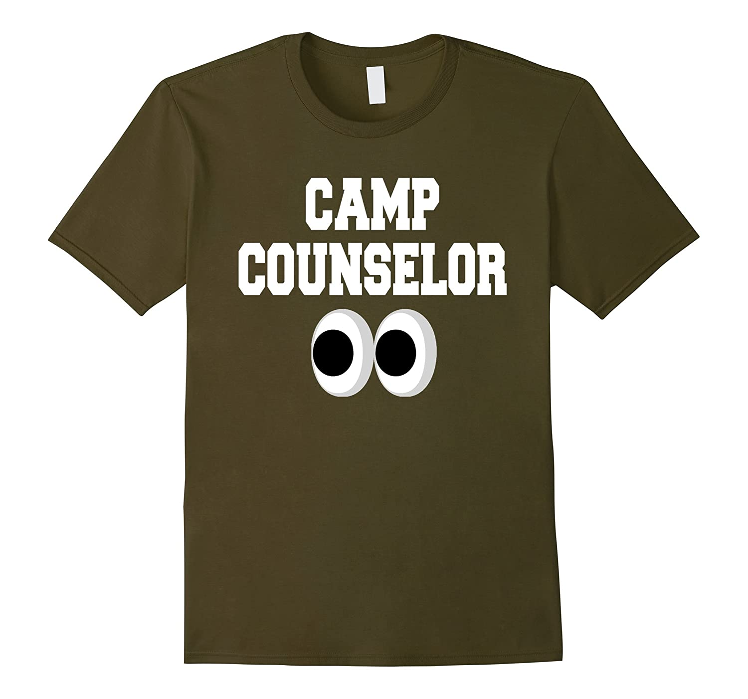 b498ab290f61 Funny Camp Counselor T Shirt for Sleepover or Day Camp Gift-CD ...