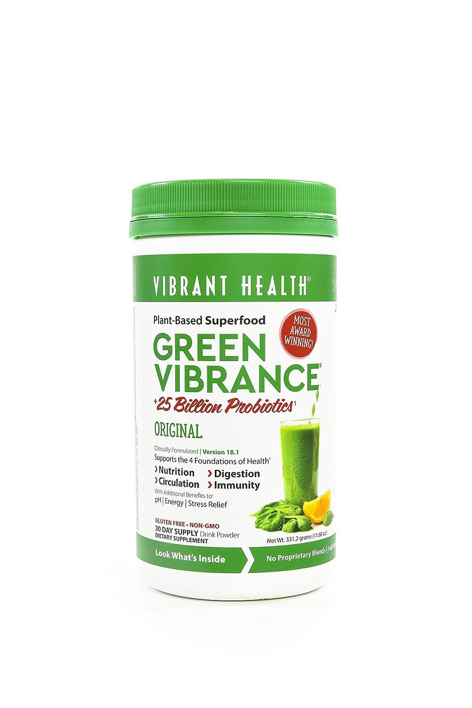Vibrant Health Green Vibrance Powder 30 day supply
