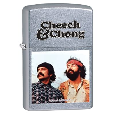 Zippo Cheech et Chong coupe-vent Briquet–Street Chrome