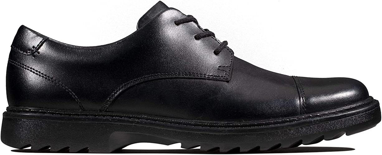 Boys Clarks Formal Lace Up School Shoes *Asher Soar*