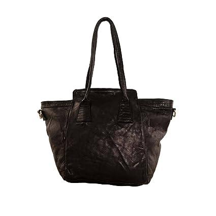 Handtasche Leder SUPERPLAIN MIX - sophistic black Tyoulip Sisters GdVzR0