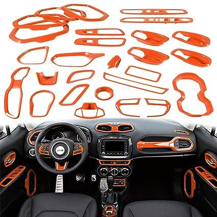 Amazon Com Yoursme Orange Car Interior Accessories Decoration Cover