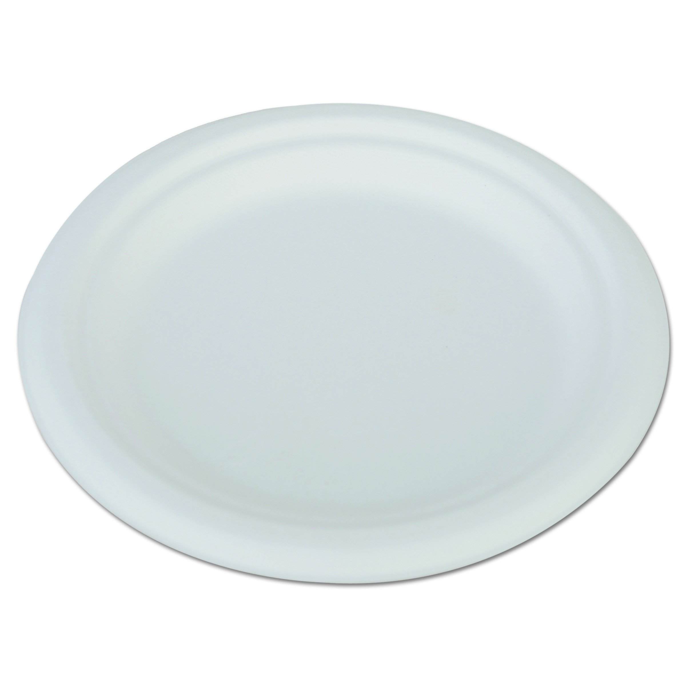 Southern Champion Tray 18110 6'' ChampWare Round Molded Fiber White Heavy Weight Pulp Plate (Case of 1,000)