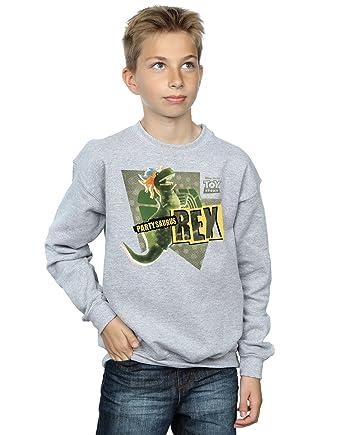 dc0e5a543bc Disney Boys Toy Story Partysaurus Rex Sweatshirt  Amazon.co.uk  Clothing