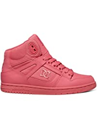 DC Womens Rebound HIGH Skateboarding Shoe