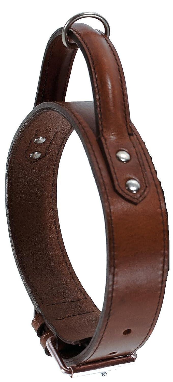 Bobby Hundehalsband, Leder, 85 cm, Braun