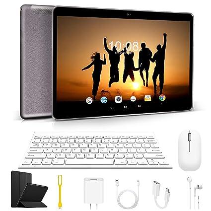 Tablet 10 Pulgadas 4G IPS/HD, 3GB de RAM 64GB de ROM, Dual SIM ...