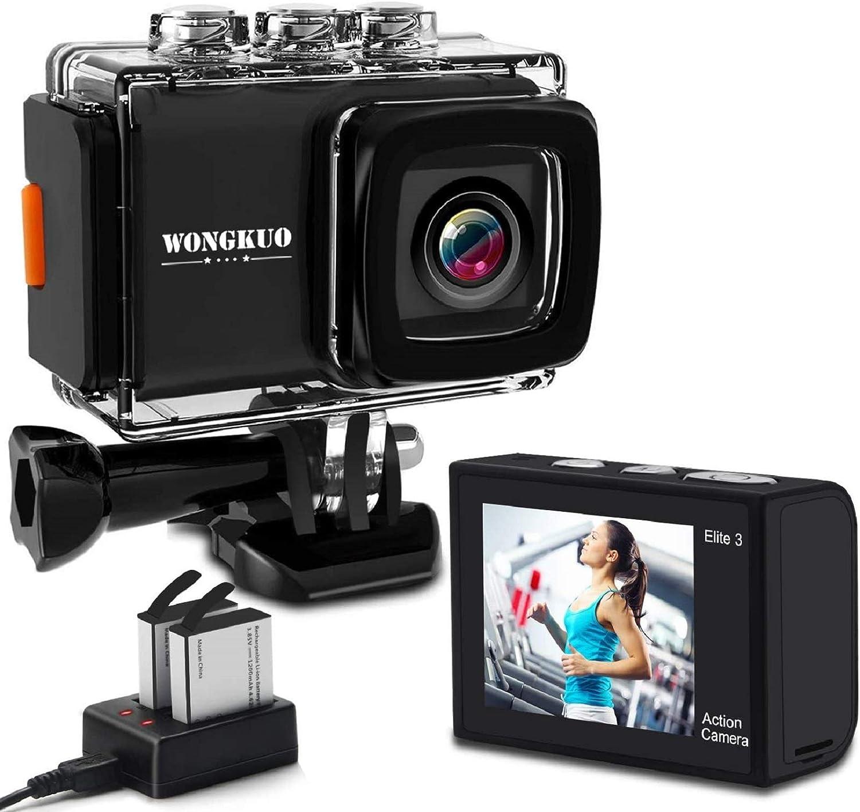 WONGKUO 進化版 アクションカメラ