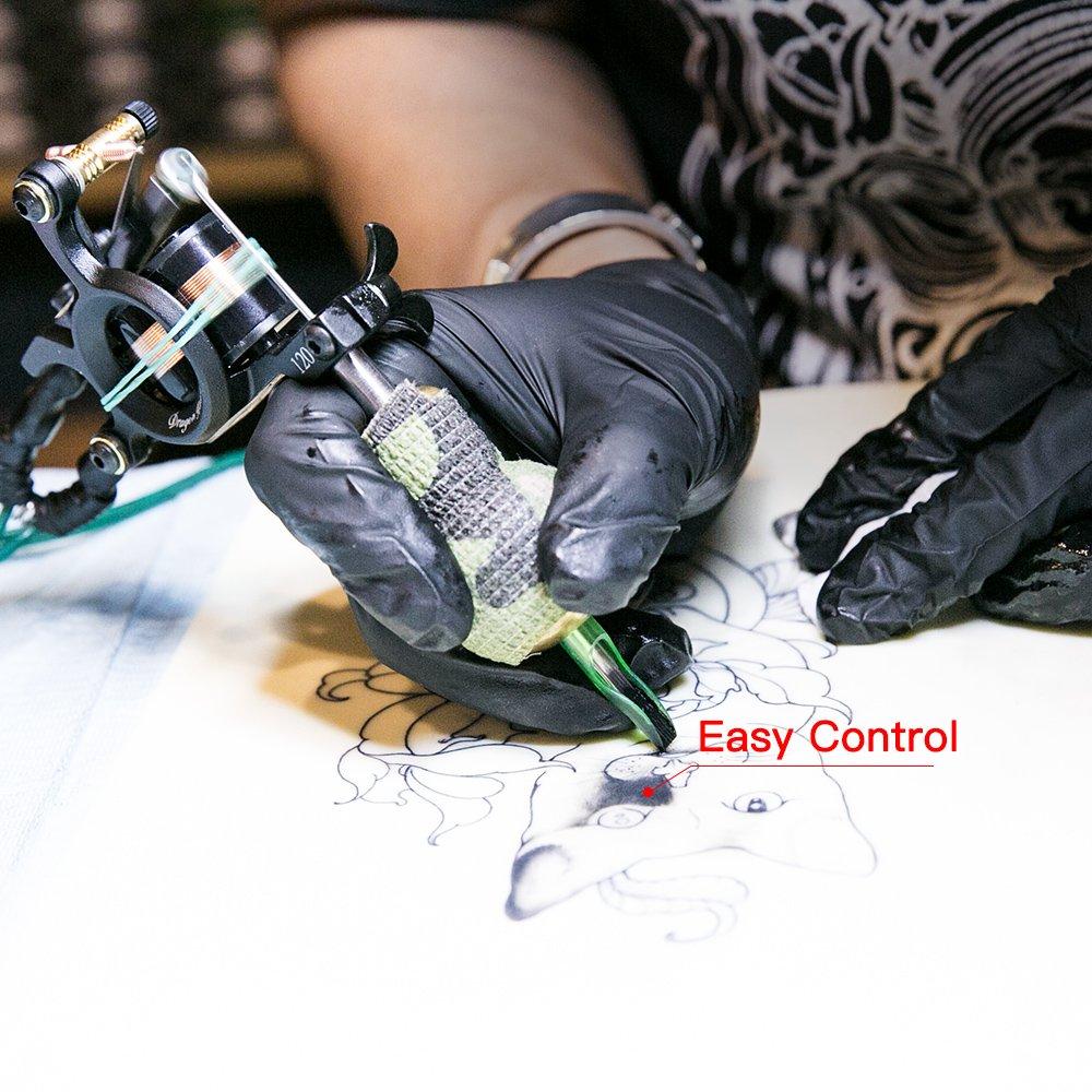 Dragonhawk Complete Tattoo Kit 2 Machine Gun 10 Color Inks Power Supply by Dragon Hawk (Image #6)