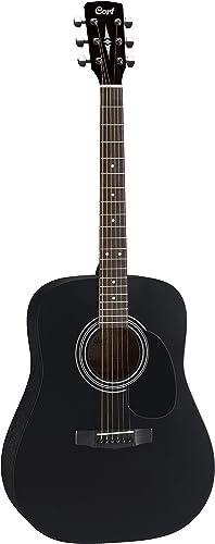 6. Cort AD810BKS Standard Dreadnought Guitar