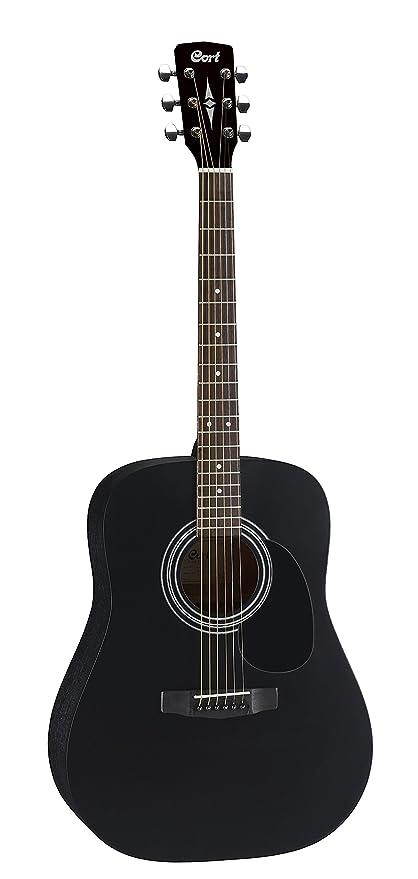 CORT AD810 guitarra acústica de satén de color negro guitarra Folk