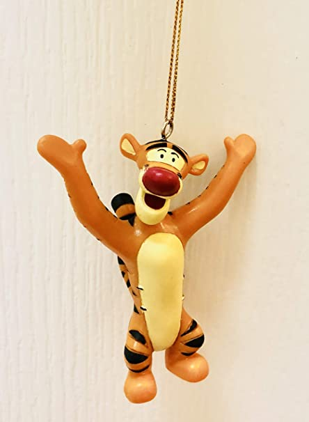 Tigger Christmas Ornaments.Disney Winnie The Pooh Tigger 3 Custom Pvc Holiday Christmas Tree Ornament Figurine Figure