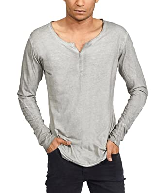 trueprodigy Casual Homme Tee Shirt Manche Longue uni Basique, Vetements  Swag Marque col Rond ( 6e5a68d3b40b