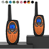 Topsung Two Way Radios for Adults, M880 FRS Walkie Talkie Long Range with VOX Belt Clip/Hands Free Walki Talki with…