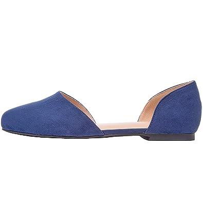 afca12d7de Aukusor Women s Wide Width Ballet Flat - Comfortable Sandals Slip On Closed  Toe Casual Summer Shoes. (10 W US