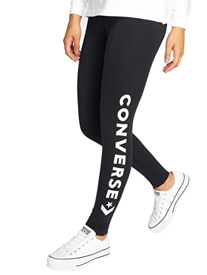 facacff5cdd1e Converse Women Leggings/Treggings Wordmark: Amazon.co.uk: Clothing