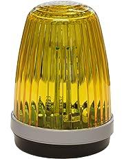Schartec Profi-Signalleuchte 12-24 V & 230 V Torantrieb Warnleuchte Warnlicht gelb