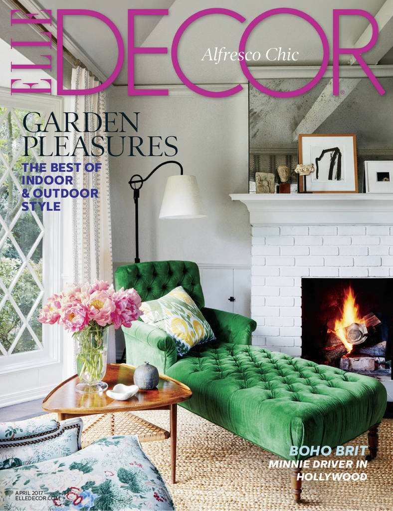 elle dcor amazoncom magazines - Free Home Improvement Magazines