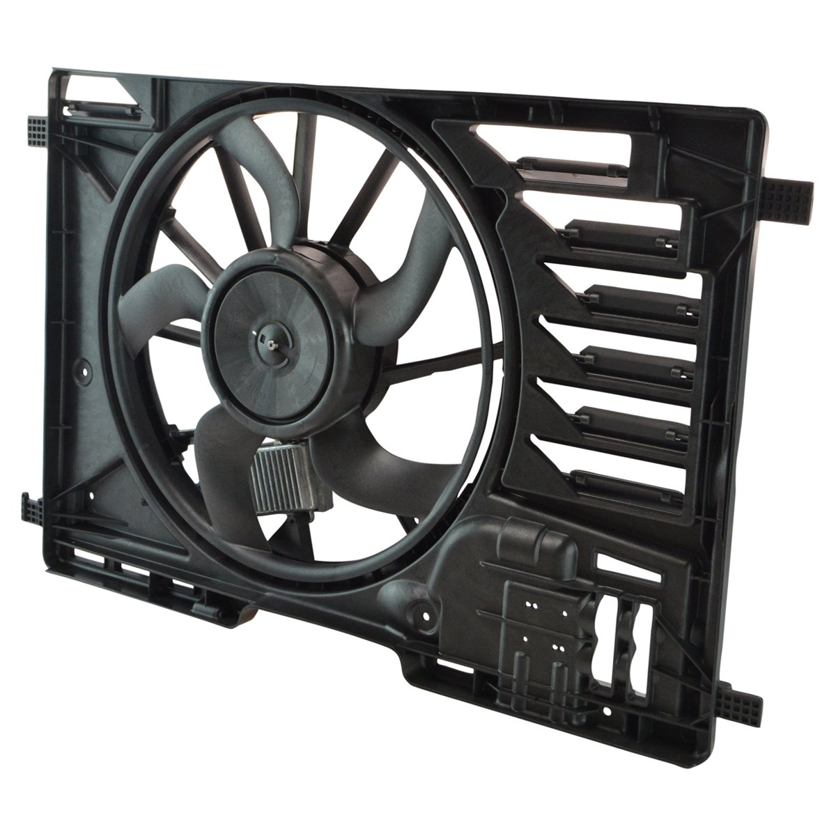 Replacement Radiator Cooling Fan Assembly for Escape 1.6L 2.5L Transit Connect