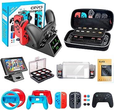 OIVO Kit de Accesorios para Nintendo Switch, 12 en 1 Pack ...